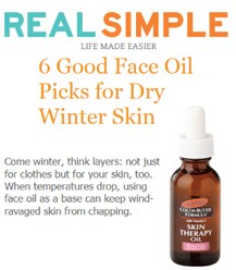 Featuring Palmer's Cocoa Butter Formula Skin Therapy Oil Face
