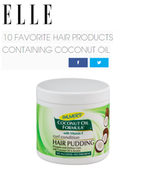 Featuring Palmer's Coconut Oil Formula Curl Conditioning Hair Pudding