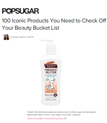 Palmer's Cocoa Butter Firming Butter Named One of PopSugar's