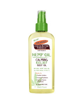 Hemp Oil Calming Relief Body Oil
