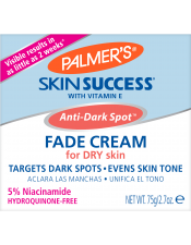Anti-Dark Spot Fade Cream, for Dry Skin