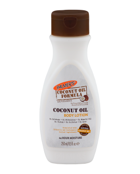 Coconut oil and cocoa butter lotion