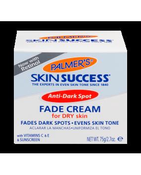 Anti-Dark Spot Fade Cream, for Dry Skin