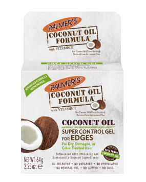 Coconut Oil Super Control Gel for Edges