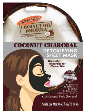 Coconut Charcoal Detoxifying Sheet Mask