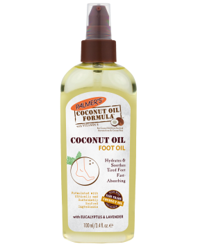 Coconut Oil Foot Oil