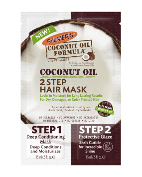 Coconut Oil 2 Step Hair Mask