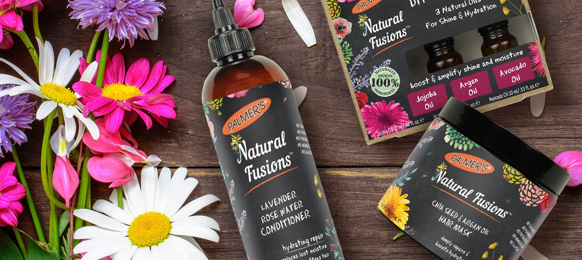 Natural Fusions Hair Care Products