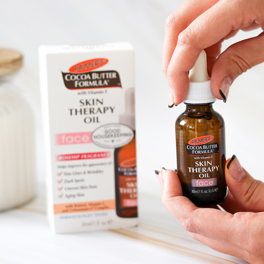 Palmer's Cocoa Butter Formula Skin Therapy Face Oil for Anti-Aging Face Care