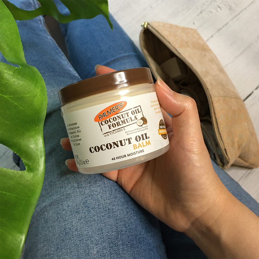 Palmer's Coconut Oil Formula Coconut Oil Balm for the best affordable skin care routine
