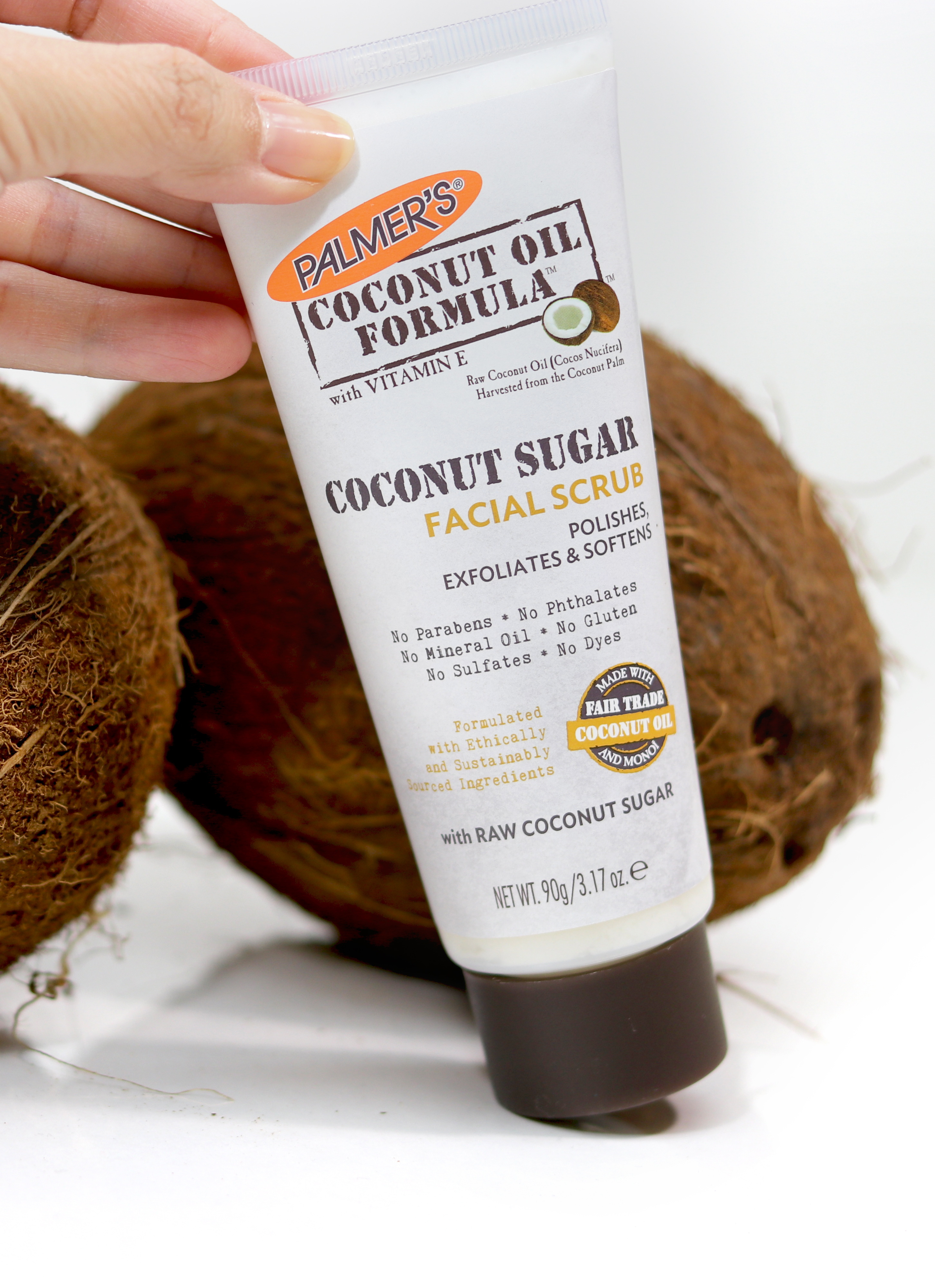 Palmer's Coconut Oil Formula Coconut Sugar Facial Scrub