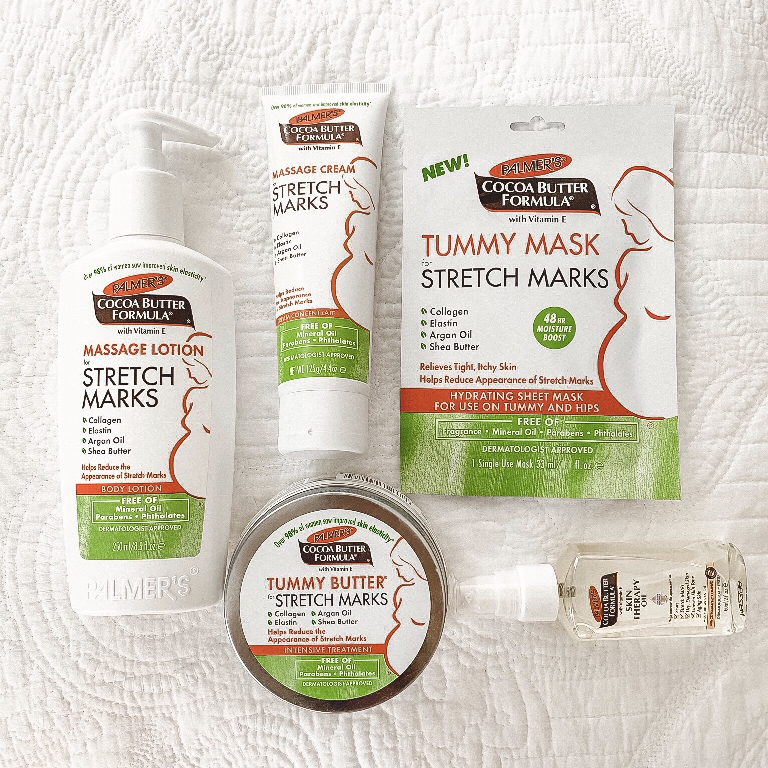 Palmer's Cocoa Butter For Pregnancy Stretch Marks Collection