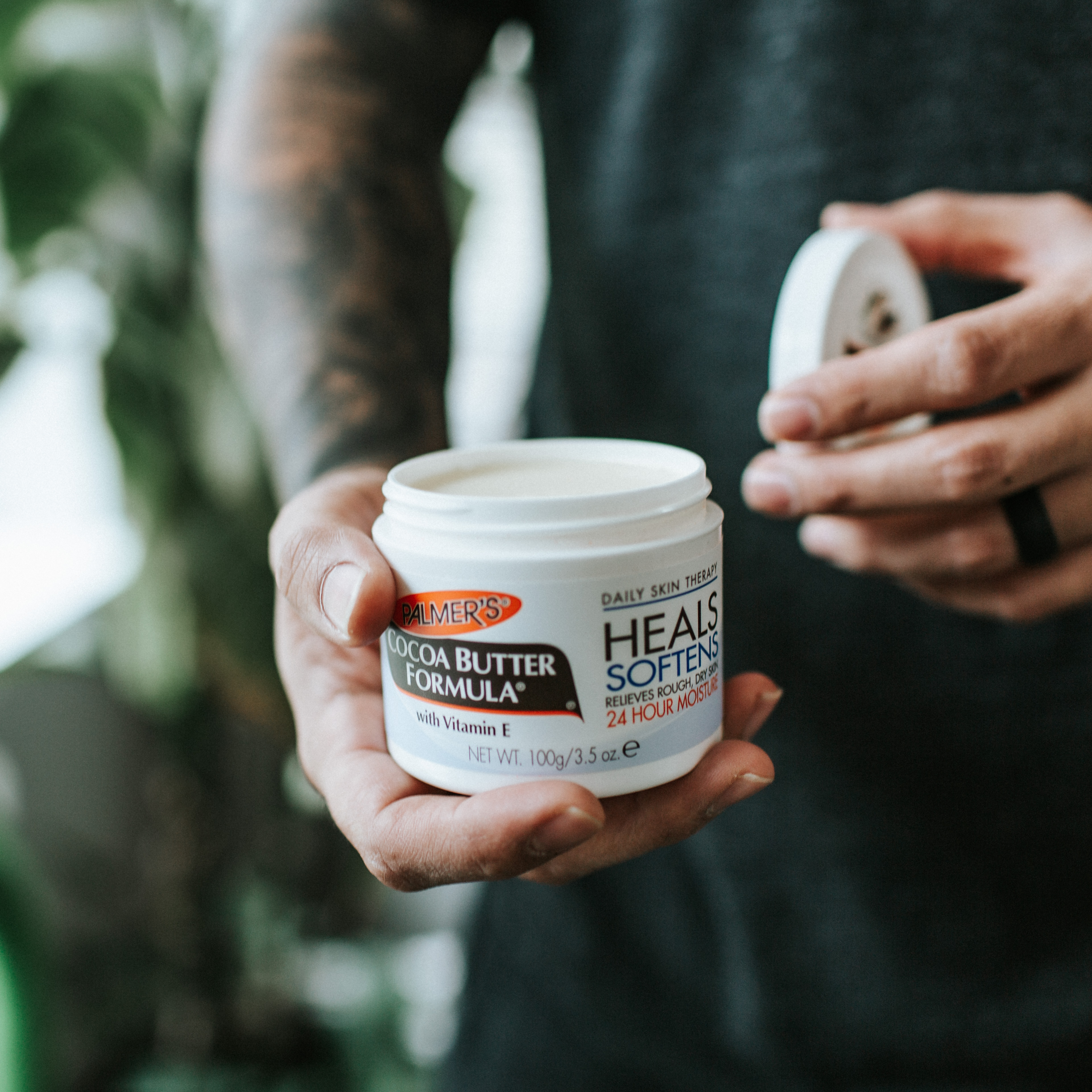 Palmer's Cocoa Butter Original Solid Jar for Tattoos
