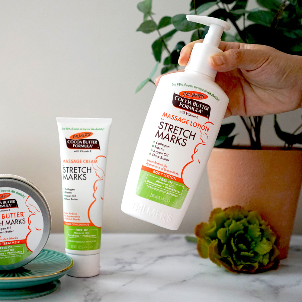 Palmer's Cocoa Butter Massage Lotion for Pregnancy Stretch Marks
