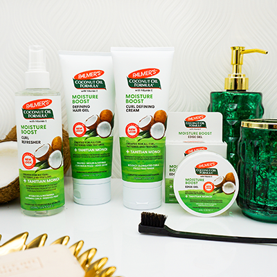 Palmer's Coconut Oil Formula Moisture Boost Stylers for how to keep hair moisturized in summer