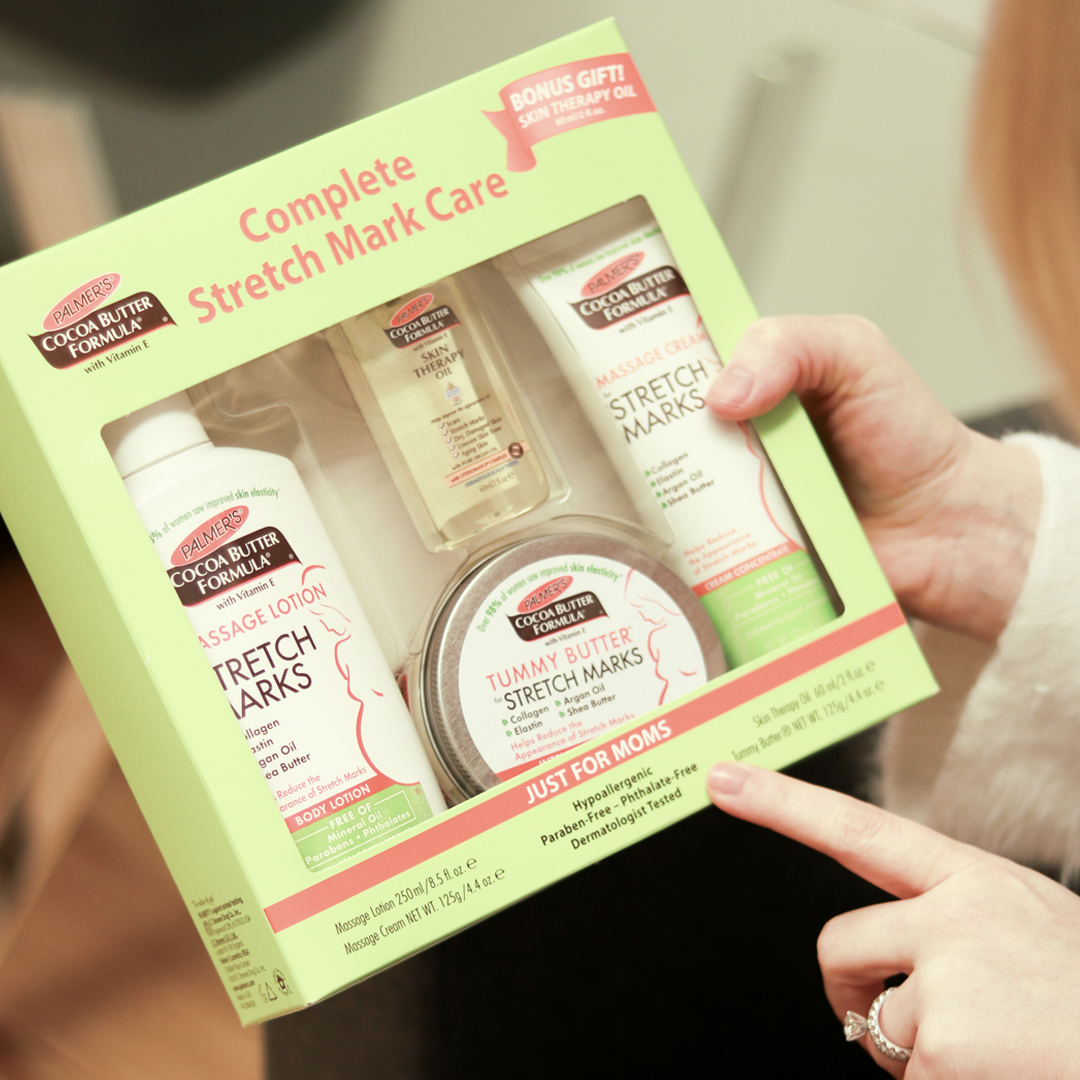 Palmer's Cocoa Butter Formula Stretch Mark Care Kit for Stretch Marks After Pregnancy