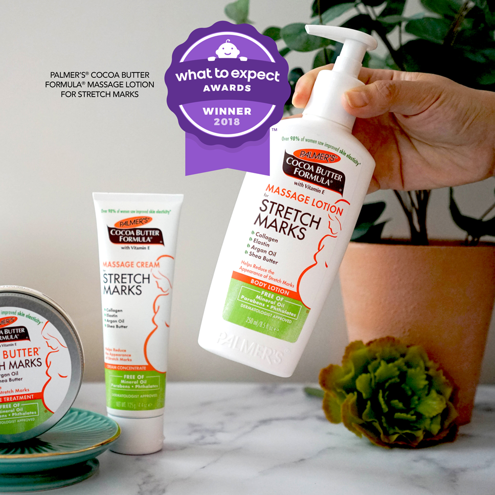 Palmer's Cocoa Butter Formula Massage Lotion for Stretch Marks after pregnancy