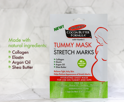 Palmer's Cocoa Butter Formula Tummy Mask for Stretch Marks After Pregnancy