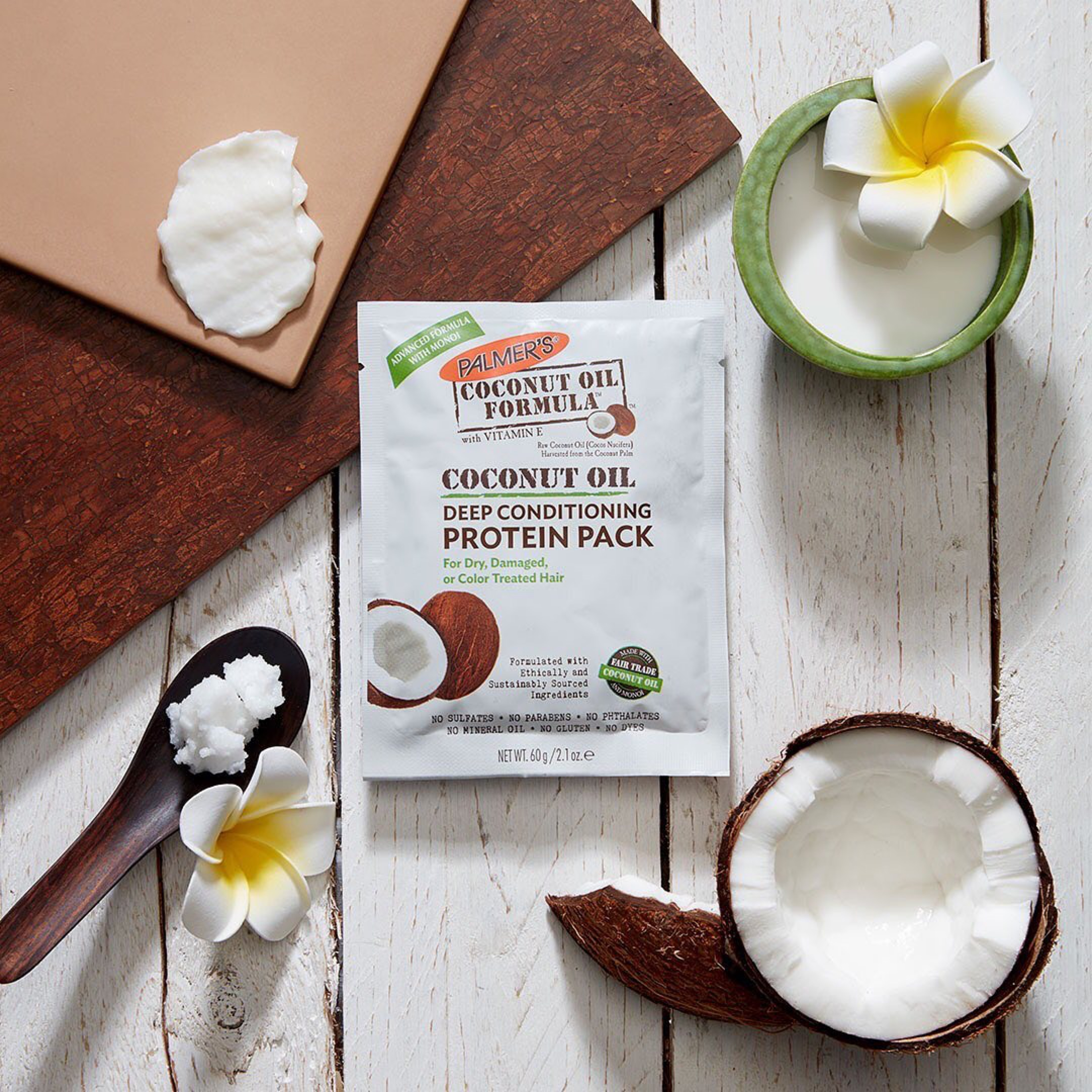Palmer's Coconut Oil Formula Protein Pack for Winter Hair Care