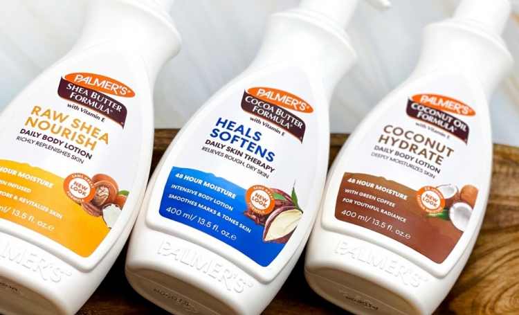 Palmer's Body Lotions - the best moisturizers for all skin types- a on table